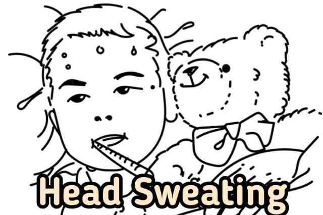 causes of excessive head sweating in babies